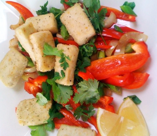 Salt & Pepper Tofu