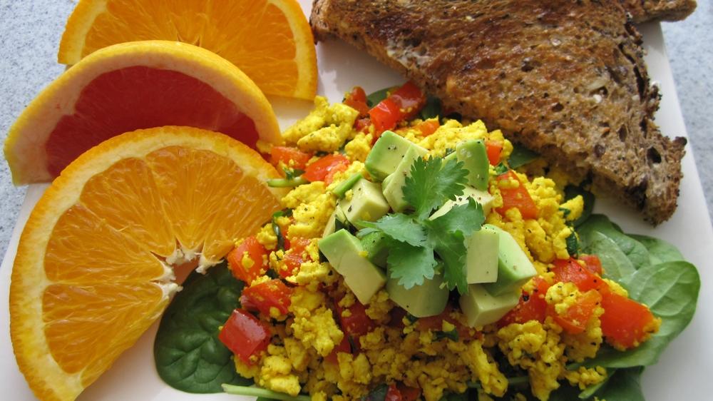 Southwest Tofu Scramble - Vegan & Gluten-Free