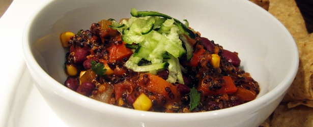 Quinoa Chili (Vegan Chili)