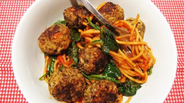 "Vegan Meatballs (Mushroom ""Neat"" Balls) - Gluten-Free"