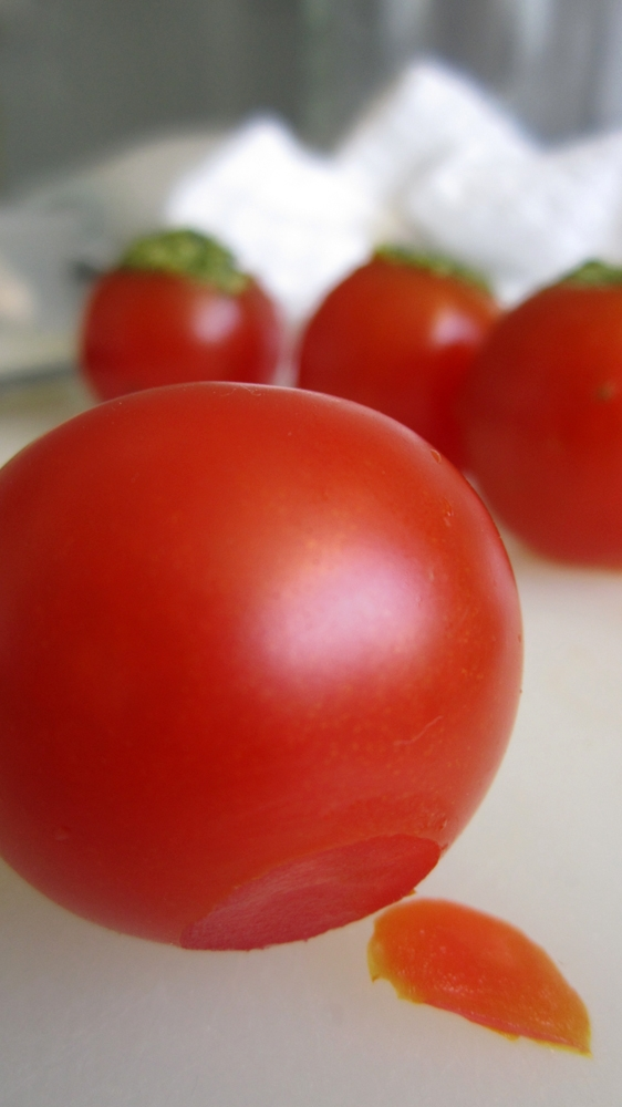 Tomato Pesto Bites - Prep