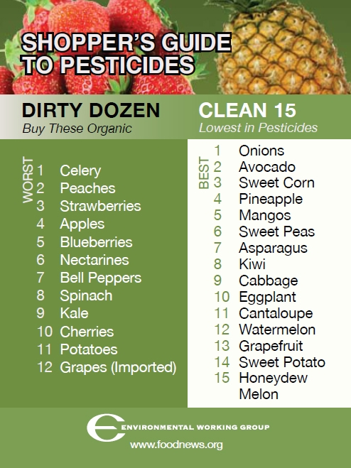 SHOPPER'S GUIDE TO PESTICIDES