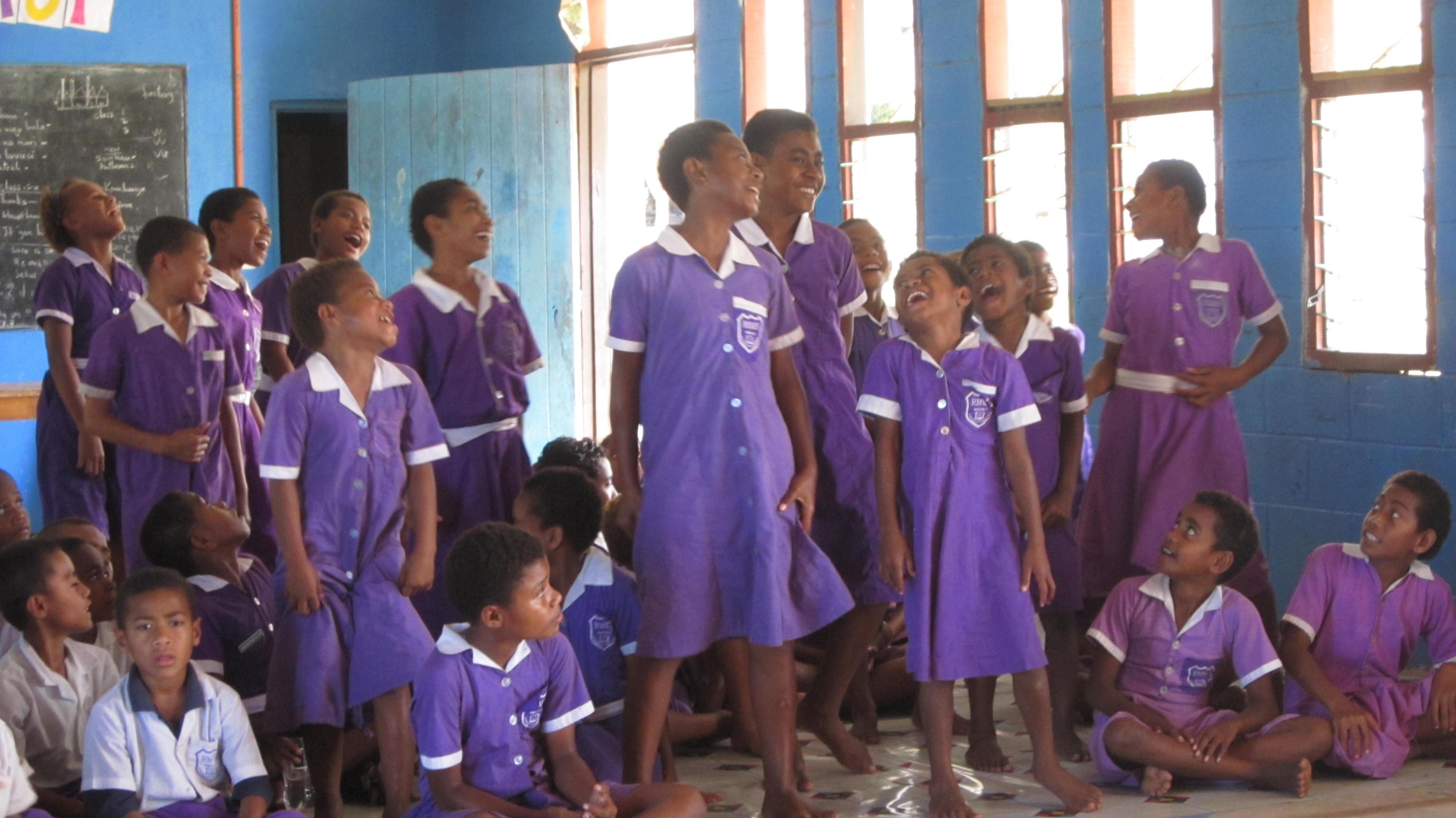 Fiji - Nacula Schoolchildren
