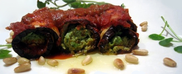 Low-Carb Vegan Manicotti