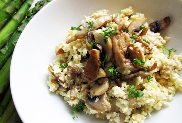 Low-Carb Risotto - Vegan & Gluten-Free