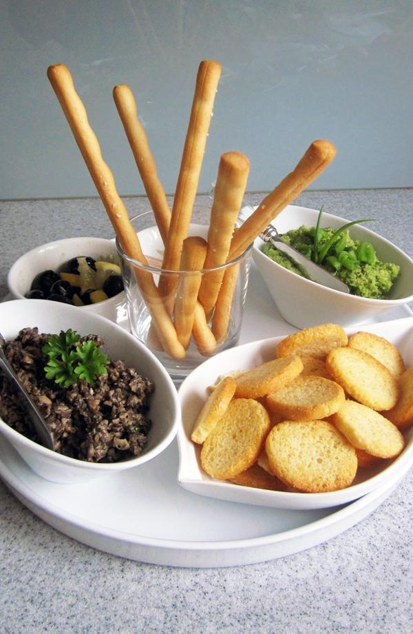 Two-Mushroom Tapenade - Vegan & Gluten-Free