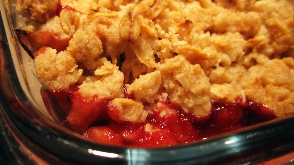 you may also like blueberry macadamia crumble crisp rhubarb crumble