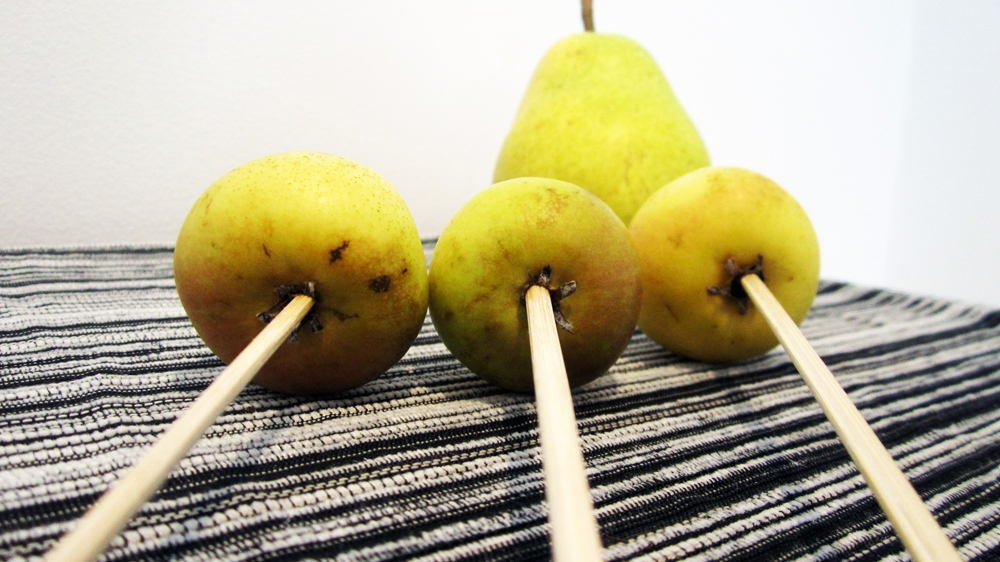 Chocolate Miniature Pears - Vegan & Gluten-Free