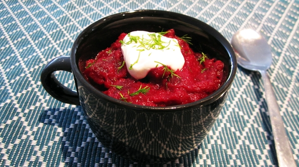 Vegan Borscht (Beetroot Soup) - Vegan and Gluten-Free
