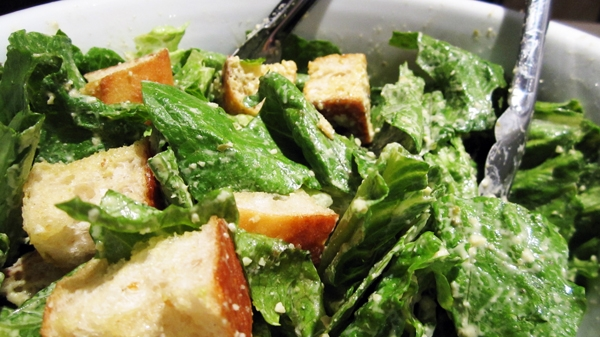 Vegan Caesar Salad - Easy and also Gluten-Free!