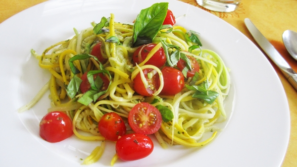 Tomato & Zucchini Pasta