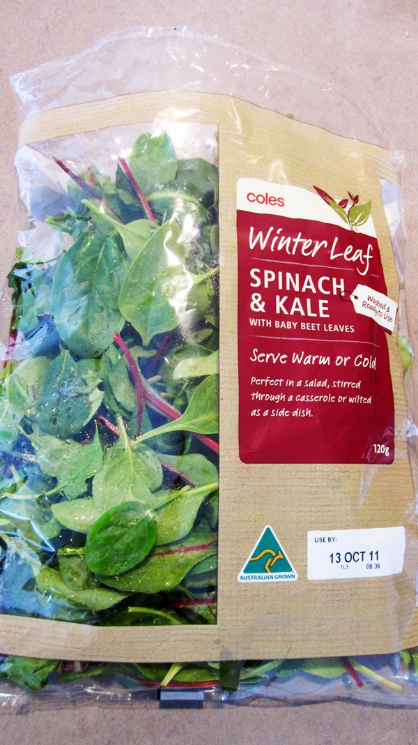 Coles Winter Leaf - Kale, Spinach, Baby Beet Leaves