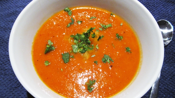 Roasted Fresh Tomato Soup
