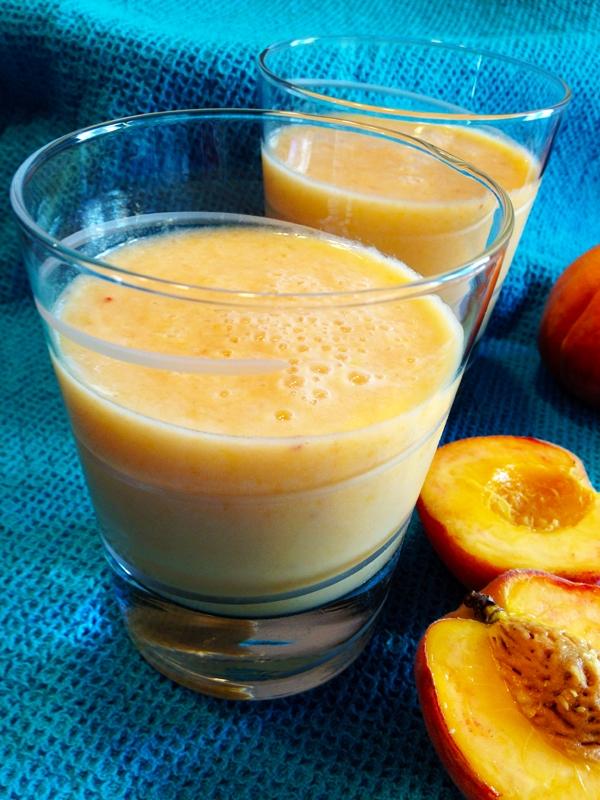 Fresh Peach Shake - Vegan & Gluten-Free