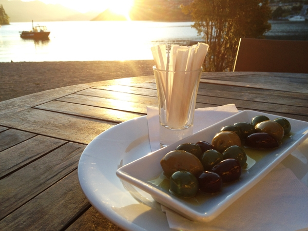 Olives in Queenstown, NZ