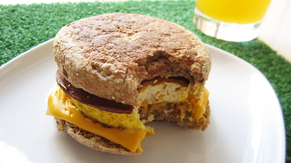 Vegan Egg McMuffins